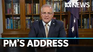 Scott Morrison addresses the nation to ...
