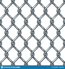 Chain Link Fence Seamless Pattern Stock Vector Illustration Of Iron Military 139780628