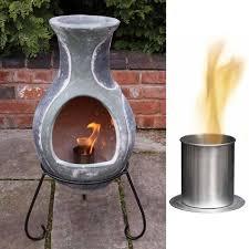 bio ethanol fireplace burner chimenea