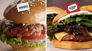 impossible whopper veggie burger