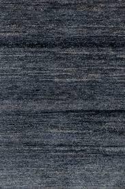 knotted modern ghazni slate blue rug