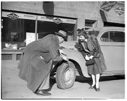 William Strickland and Luella Smith, County Clerk, Share the Ride ...