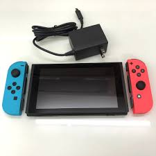 Máy Chơi Game Nintendo Switch + Joycon Neon Red And Neon Blue V2 Like New  99%