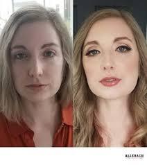 before after boudoir makeup
