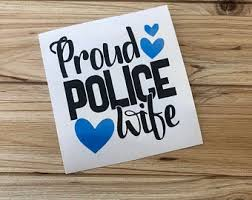 Police Car Decal Etsy