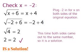 solving radical equations kate s math