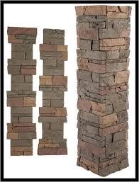 Genstone 4 Piece Stone Post Wrap Deckexpressions Com