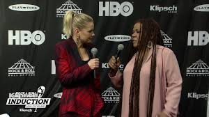 Felicia Collins on the 2018 Rock & Roll Hall of Fame Induction Ceremony Red  Carpet - YouTube