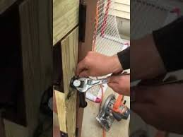 Diy How To Install And Adjust A Pool Fence Gate Spring Youtube