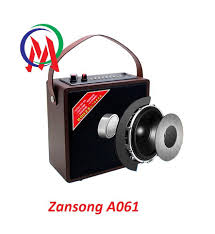 Tặng Mic & Pin] Loa Bluetooth Karaoke Mini Zansong A061 - (6.5 ...