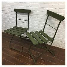 green french garden chair mayfly vintage