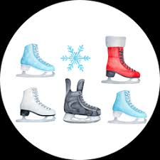 Ice Skating Car Stickers Decals Fully Customizable Designs