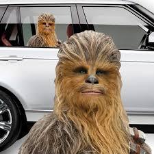 Chewbacca Passenger Series Fanwraps