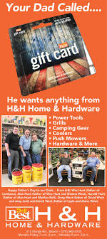 The Press Online: H&H Home & Hardware celebrates Dads