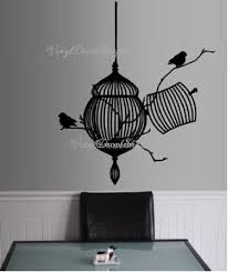Free Bird Wall Decal Wall Mural Living Room Bird Decor Den Wall Decor Den Wall Decal Family Room Decal Wall Decal Large Wall Decal