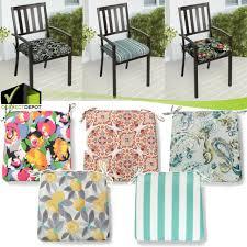 ekeron chair pad outdoor black stripe