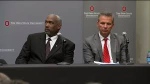 Ohio State suspends Urban Meyer, Gene Smith for mishandled abuse case |  fox8.com
