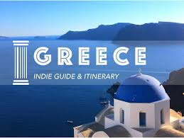 my greece itinerary for a 2 week