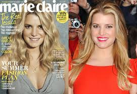 jessica simpson appears unretouched