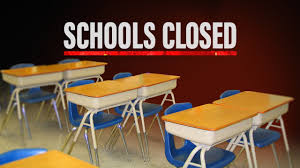 States that have closed all schools ...