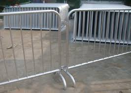 Construction Heavy Duty Crowd Control Barriers Temporary Barrier Fence