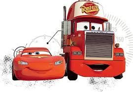Amazon Com Disney 10 Inch Team 95 Mack Truck Pixar Cars 2 Movie Removable Wall Decal Sticker Art Home Racing Decor 10 By 6 Inches Home Kitchen