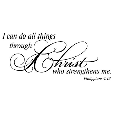I Can Do All Thing Through Christ Who St Buy Online In India At Desertcart