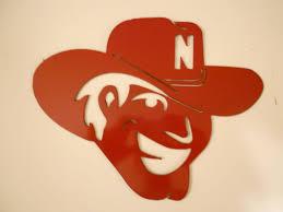 Nebraska Huskers Herbie Husker Metal Wall Art Metal Wall Art Crafts Husker