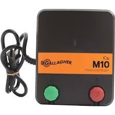Ropesoapndope Gallagher M10 Electric Fence Charger