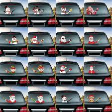 Tancredy Cartoon Funny Moving Tail Dog Car Sticker Reflective Car Stickers Car Styling Rear Window Windshield Wiper Decals Car Sticker Reflective Car Stickercar Styling Aliexpress