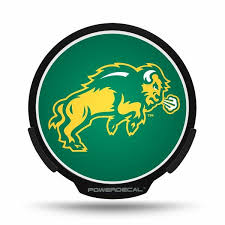 Powerdecal Pwr410401 North Dakota State University Bisons Backlit Led Decal