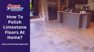how to polish limestone floors at home