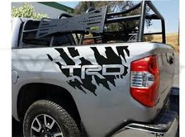 2x Rear Bedside Vinyl Decals For Toyota Tundra 2007 2020 Trd Splash Graphics Ebay