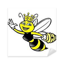 Queen Bee Sticker Pixers We Live To Change