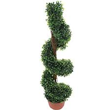 Buy Artificial Tree 3ft Spiral Twist At Home Bargains