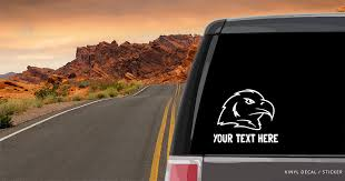 Eagle Head Outline Silhouette Car Window Decal Vinyl Sticker Custom Gifts Etc