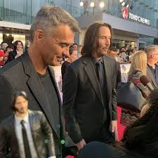 Keanu Reeves & Chad Stahelski at the 🎬John Wick Chapter 3 ...