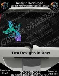 Get Off My Tail Mermaid For Car Decal Svg Mermaid Svg Mermaid Tail Dynamic Dimensions