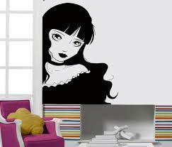 Wall Stickers Vinyl Decal Lolita Girl Teen Gothic Sexy Hot Chick Decor Z2155 For Sale Online