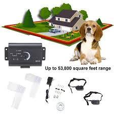 Underground Electric Dog Fence System Waterproof 2 Shock Collars For 2 Dogs Walmart Com Dog Fence Shock Collar Dog Wear