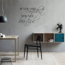 askig wall sticker inspirational quotes if you are confident