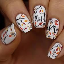 autumn nail design sonailicious