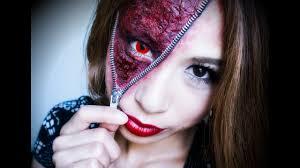 3 ways to do zipper face makeup wikihow
