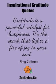 gratitude quotes for inspiration