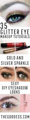 35 glitter eye makeup tutorials the