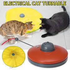 mèo thông minh xoay bàn xoay tự động Đào tạo thú cưng Đồ chơi trò ...