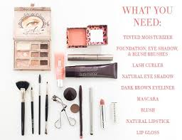 everyday natural makeup essentials by