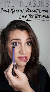 makeup never looks good on me