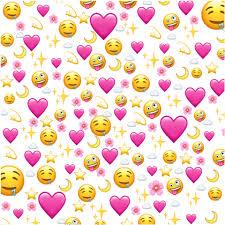love heart emoji wallpaper