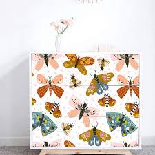 Amazon Com Alwayspon Self Adhesive Dresser Sticker Peel And Stick Furniture Stickers Decals Removable Furniture Skin 004 Malm Home Kitchen